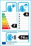 etichetta europea dei pneumatici per Pirelli Pzero Corsa Asimm. Left 295 30 19 100 Y XL