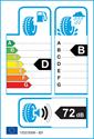 etichetta europea dei pneumatici per Pirelli PZERO NERO GT 225 45 17