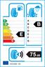 etichetta europea dei pneumatici per pirelli Pzero Nerogt 305 30 22 105 Y XL