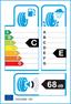 etichetta europea dei pneumatici per pirelli Winter Ice Zero 2 245 45 18 100 H 3PMSF XL