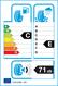 etichetta europea dei pneumatici per pirelli Winter Ice Zero Friction 205 55 16 94 T 3PMSF C M+S XL
