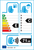 etichetta europea dei pneumatici per Radar Dimax 4 Season 155 65 14 75 H M+S