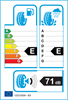etichetta europea dei pneumatici per Radar Dimax Alpine 185 60 15 88 T XL