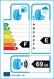 etichetta europea dei pneumatici per Riken Snowtime B2 175 65 14 82 T