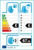etichetta europea dei pneumatici per roadstone Eurovis Hp02 155 70 14 77 T