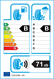 etichetta europea dei pneumatici per roadstone Eurovis Sport 04 225 50 17 98 W XL