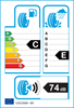 etichetta europea dei pneumatici per Rotalla F110 285 50 20 116 V MFS XL