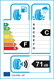 etichetta europea dei pneumatici per saetta Winter 205 55 16 91 T 3PMSF M+S