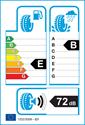 etichetta europea dei pneumatici per Sailun ATREZZO Z4+AS 205 55 16
