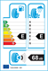 etichetta europea dei pneumatici per Sava Adapto Hp 4 Season 175 65 14 82 T