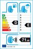 etichetta europea dei pneumatici per Sava Adapto Ms 185 70 14 88 T 3PMSF M+S