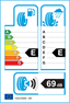 etichetta europea dei pneumatici per Sava Adapto 155 70 13 75 T