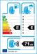 etichetta europea dei pneumatici per Sunny Sn3860 205 55 16 91 H 3PMSF M+S Studdable