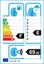 etichetta europea dei pneumatici per Taurus W601 155 65 14 75 T 3PMSF M+S