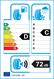 etichetta europea dei pneumatici per Tigar Winter 225 50 17 98 V 3PMSF M+S XL