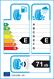 etichetta europea dei pneumatici per tourador Winter Pro Tsu2 225 45 18 95 V 3PMSF M+S XL