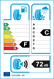etichetta europea dei pneumatici per toyo Tycs Celsius 225 45 17 94 W XL