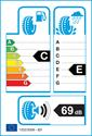 etichetta europea dei pneumatici per Toyo tranpath r27 185 55 15