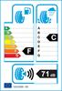 etichetta europea dei pneumatici per Uniroyal Ms Plus 77 165 65 13 77 T 3PMSF M+S