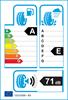etichetta europea dei pneumatici per Uniroyal Rainsport 3 205 55 16 91 W RUNFLAT