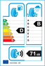 etichetta europea dei pneumatici per Vredestein Ultrac Satin 205 55 16 91 W FR