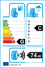 etichetta europea dei pneumatici per Wanli Snowgrip S1083 195 50 16 88 H XL