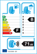 etichetta europea dei pneumatici per yokohama Advan Sport V105 245 45 18 96 W KZ RPB