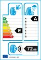 etichetta europea dei pneumatici per Yokohama ADVAN Sport V105S 225 50 17