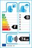 etichetta europea dei pneumatici per Yokohama Delivery Star Ry818 175 65 14 90 T