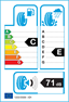 etichetta europea dei pneumatici per Yokohama Geolandar G91av 235 55 18 100 H M+S