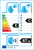 etichetta europea dei pneumatici per Yokohama V103 205 55 16 91 W E MO RF RPB ZPS