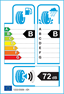 etichetta europea dei pneumatici per zeetex Hp1000 235 60 18 107 W XL