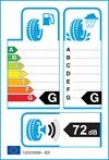 etichetta europea pneumatici Zeetex Zt4000 225 40 18 92 Y 3PMSF XL
